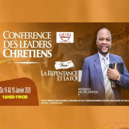 INVITATION pour une conférence « LA REPENTANCE ET LA FOI »